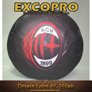 Sarung Ban Custom AC Milan New Design