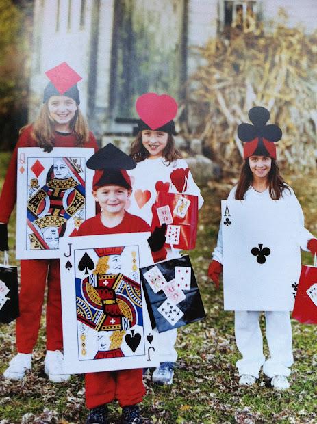 Alice Wonderland Card Costume