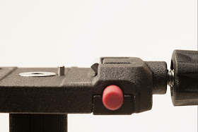 Manfrotto Q6 clamp metal tongue detail