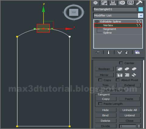 vertex 3ds max sketch