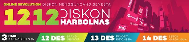 Promo HarBolNas 12.12 2017