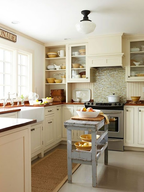 Chic Country Style Kitchens 5