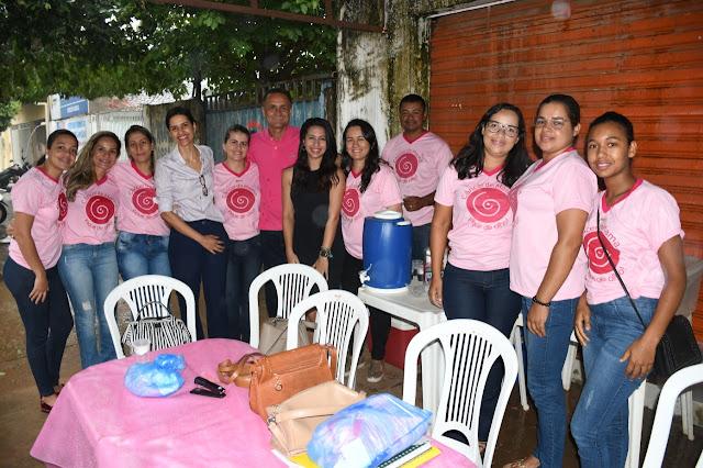 Prefeito Termosires Neto agradece a parceria para o rastreamento do câncer de mama em Formosa do Rio Preto