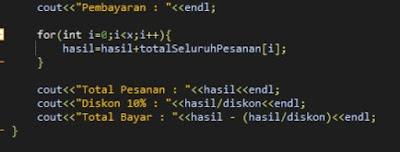 Membuat Aplikasi Menu Toko Sederhana Dengan Bahasa Pemrograman C++
