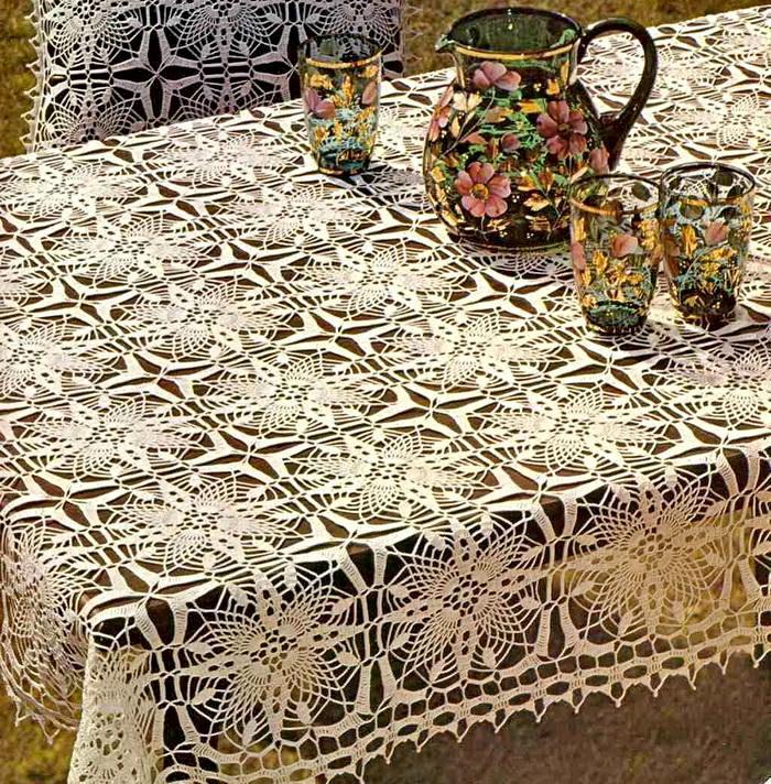 Free Crochet Round Tablecloth Patterns Elegant Free Pattern Diy How