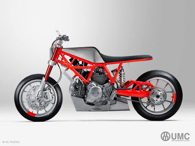 "Ducati ""Scrambler"" Custom Swingingarm by Untitled Motorcycles"