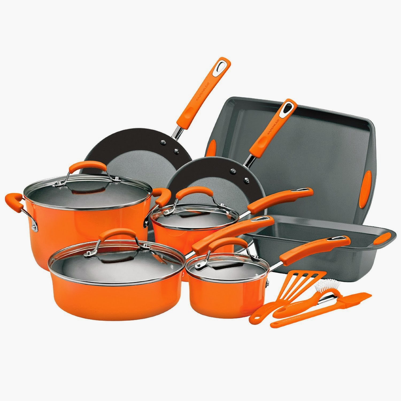 Coupon Stl Rachael Ray 15 Piece Cookware Set 110 Shipped