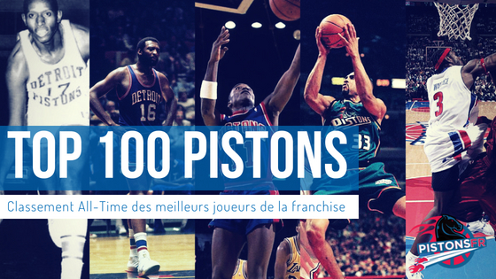 Top 100 All-Time Detroit pistons