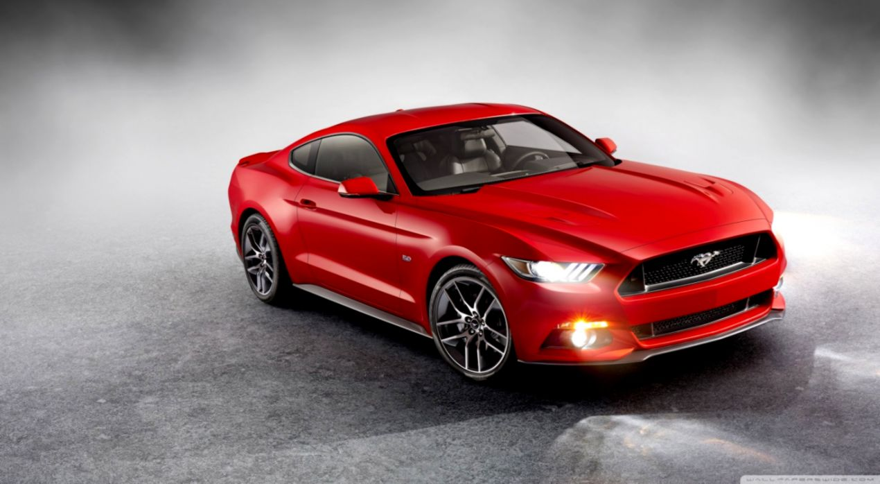 2015 Ford Mustang Desktop Hd Background Wallpapers