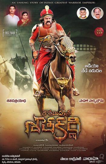 Gautamiputra Satakarni 2017 Dual Audio Hindi  Full Movie Download