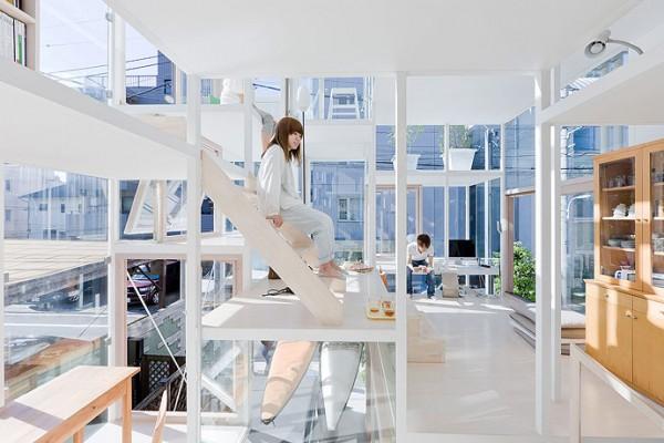 modern house transparent house design-7