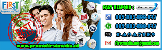 DAFTAR HARGA PAKET FIRST MEDIA INTERNET TV CABLE