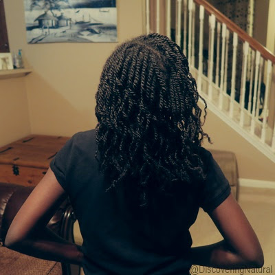Natural Hair Kids Hairstyle Mini Twists DiscoveringNatural