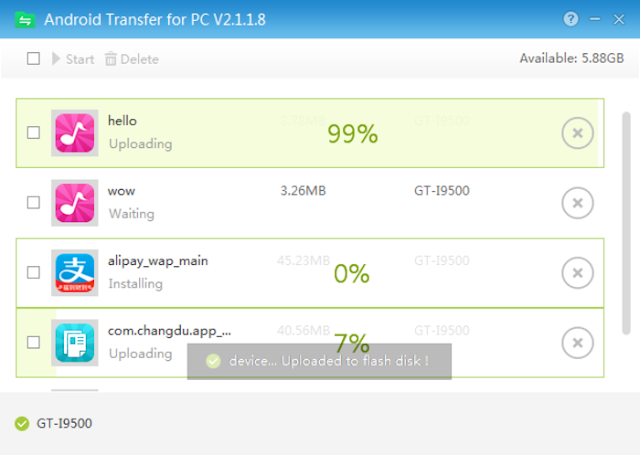 Android Transfer for PC (Software Manager File Android di PC)