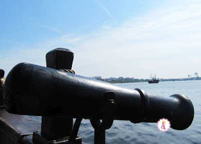 Развлечения для детей - пушка для водных битв на море в Болгарии