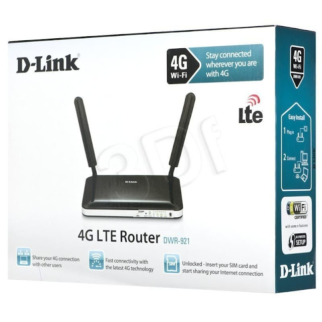 D-Link DWR921: 4G LTE Sim Card Support Router