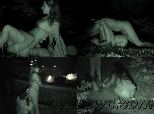 Couple Having Sex in Public on Street Hidden Cam (Galician Night Sex 96-98)
