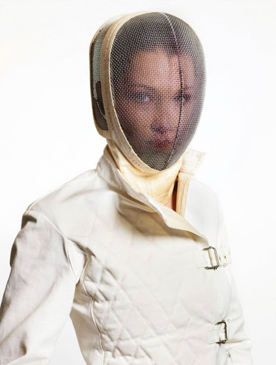 Bella Hadid fashion model photo shoot for Vogue Paris magazine