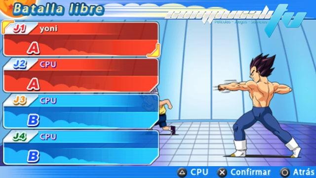 Dragon Ball Z: Tenkaichi Tag Team PC Español Repack