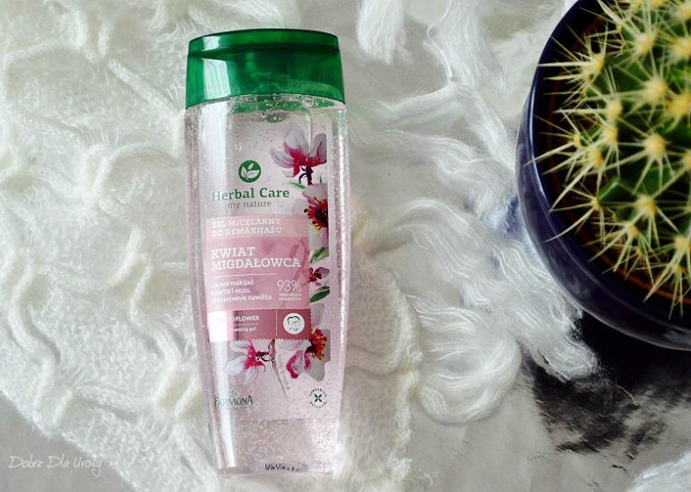 Farmona Herbal Care Przeciwzmarszczkowy krem roll-on pod oczy Irys Syberyjski oraz Żel micelarny do demakijażu Kwiat Migdałowca