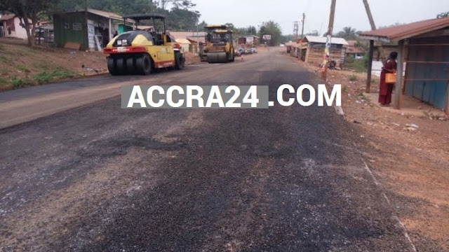 GHANA Amenfi west Road Problem