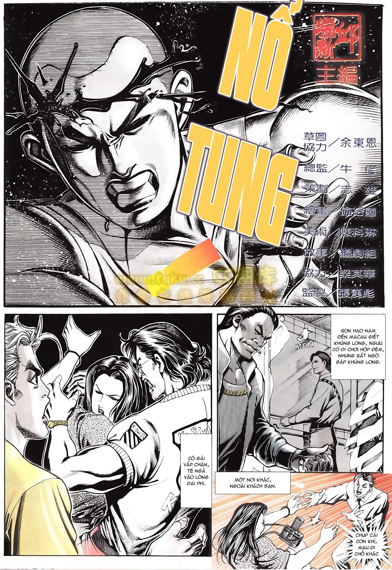 Người Trong Giang Hồ chapter 166: bùng nổ trang 1