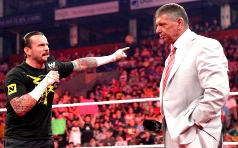 Vince McMahon não quer trabalhar com CM Punk e Alberto Del Rio