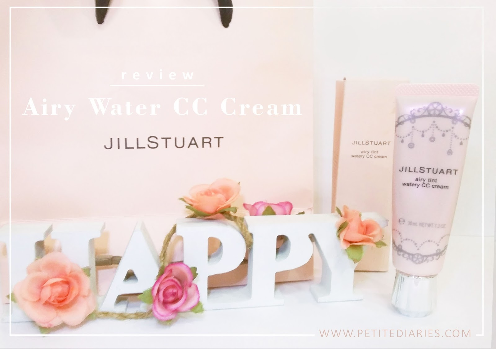 review jill stuart airy water cc cream