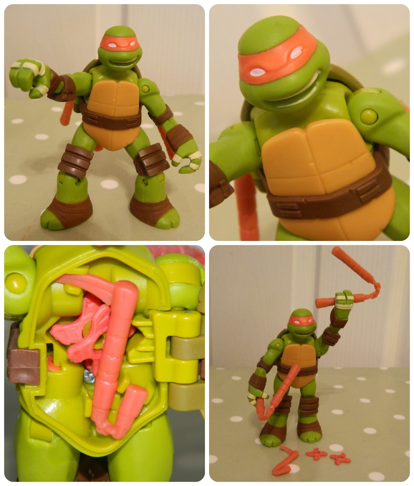 Teenage Mutant Ninja Turtles Battle Shell Michelangelo