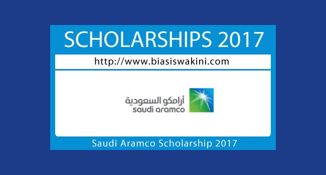 Saudi Aramco Scholarship 2017