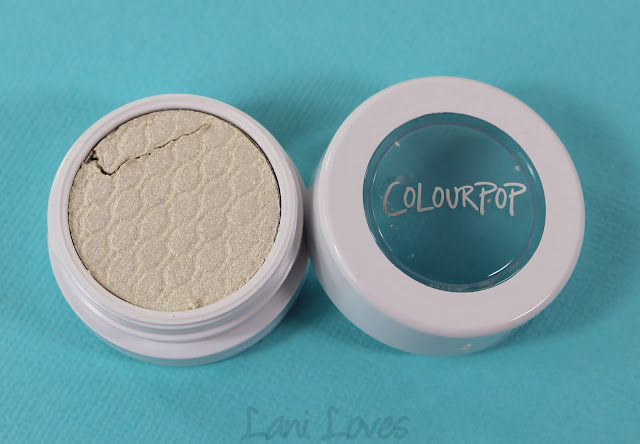 ColourPop Super Shock Shadow - Valley Girl Swatches & Review
