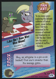 MLP I Just Don't Know What Went Wrong! Series 4 Trading Card