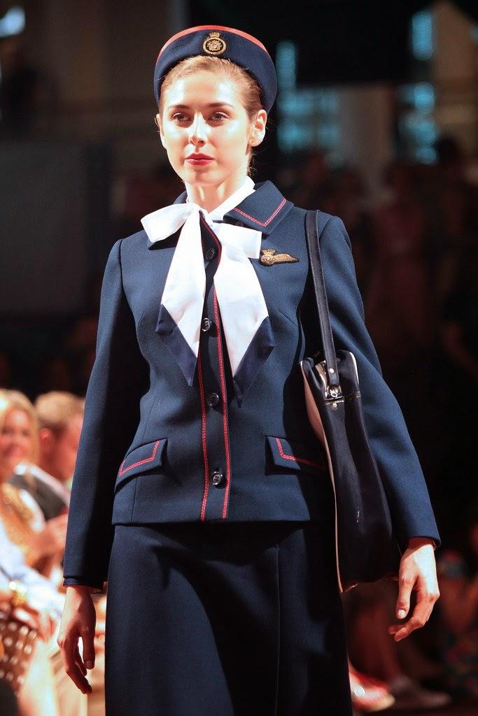 British Airways Catwalk Show 2011 In London World