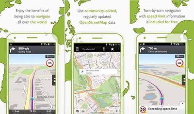 Wisepilot - GPS Navigation - Aplikasi Lokasi Android