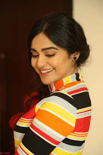 Adha Sharma in a Cute Colorful Jumpsuit Styled By Manasi Aggarwal Promoting movie Commando 2 (107).JPG