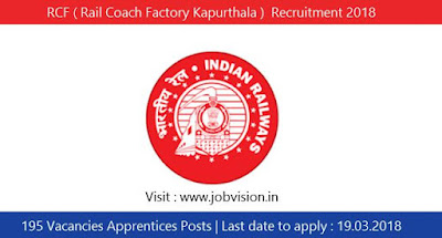 RCF ( Rail Coach Factory Kapurthala )