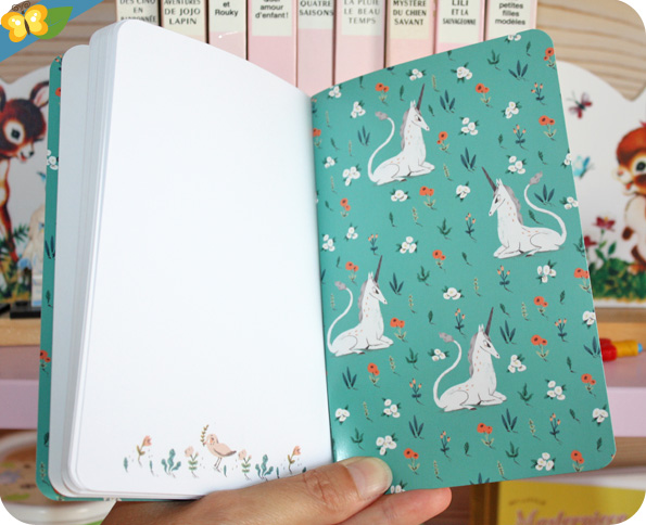 Stickers et carnets Lovely Paper de Djeco
