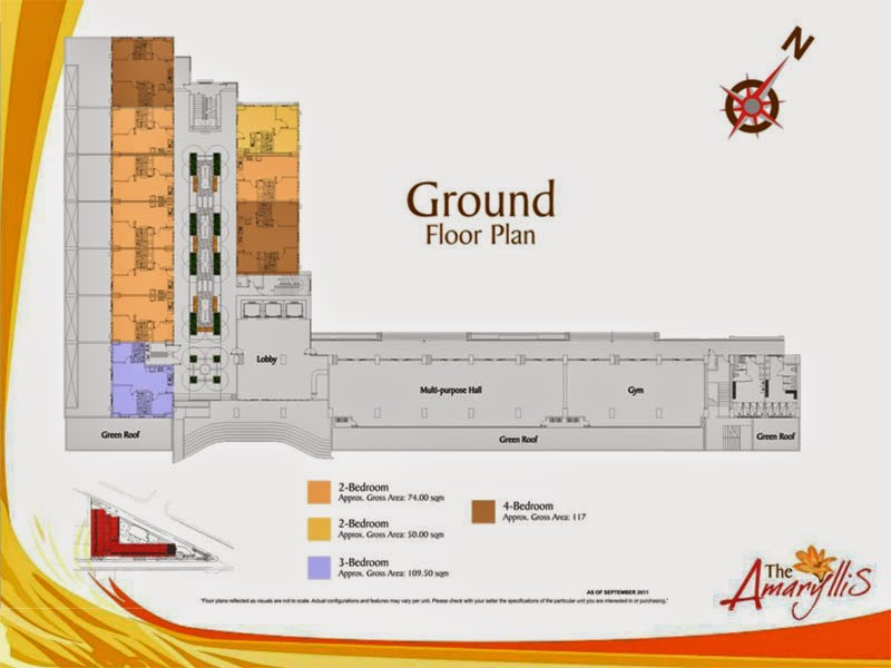 The Amaryllis Ground Floor Plan