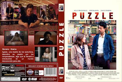CARATULA PUZZLE -PUZLE-ROMPECABEZAS- 2018 - [COVER DVD]