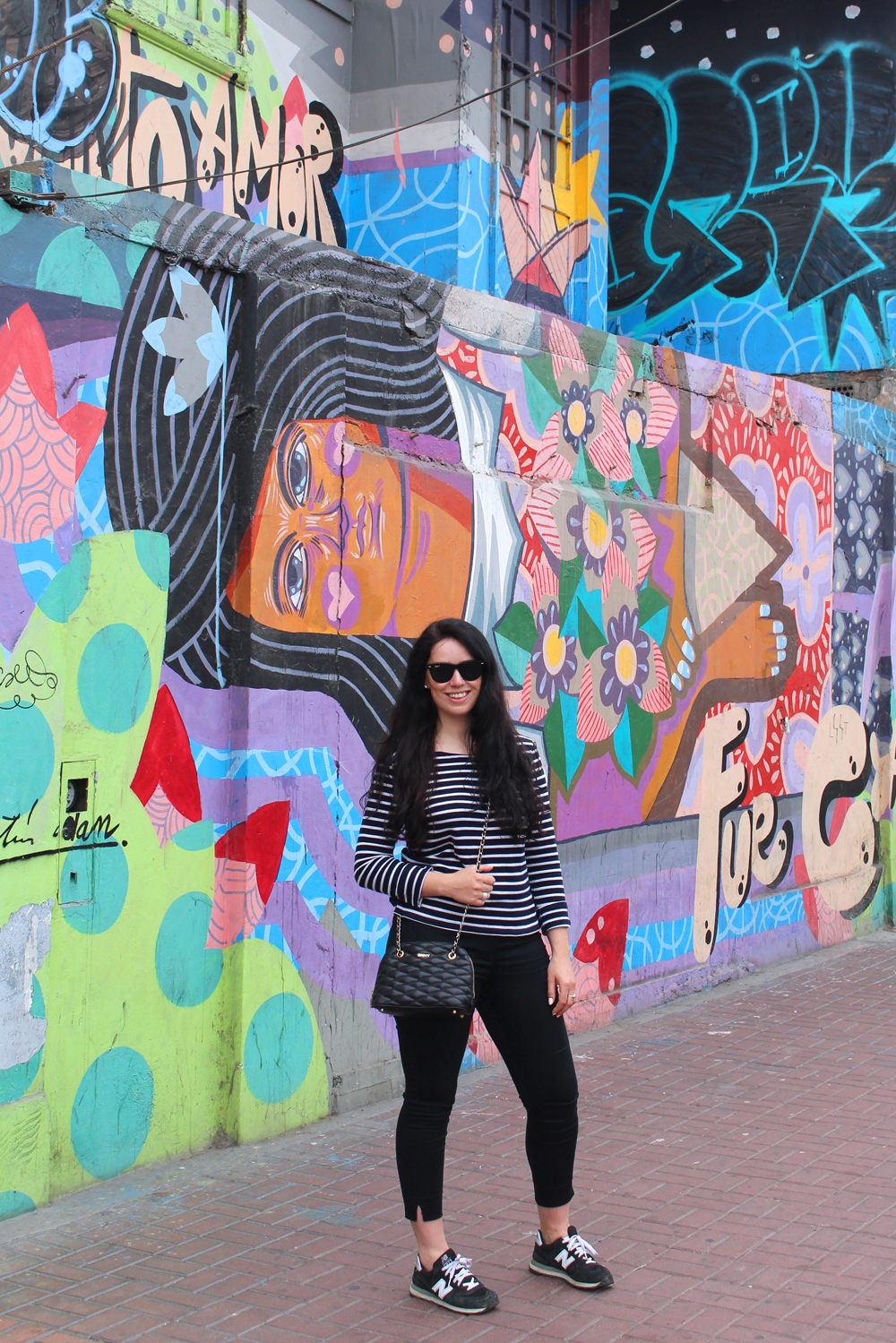 Colourful street art Miraflores in Lima, Peru - travel blog