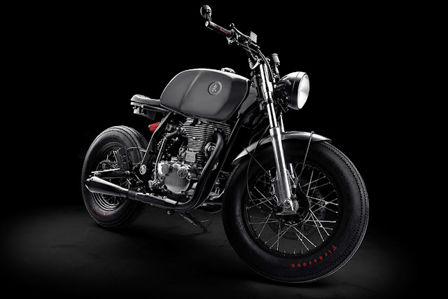 KR Customs Grigio - Royal Enfield Continental GT