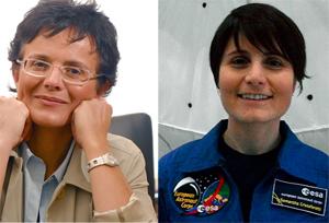 Premio Ambrogino Doro A Elena Cattaneo E Samantha Cristoforetti