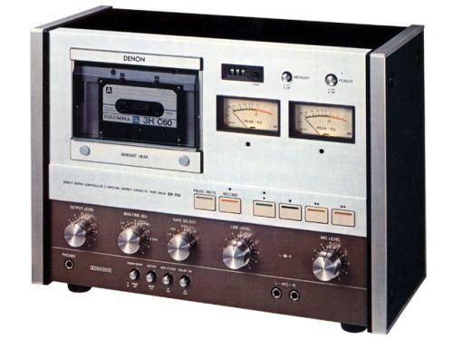 denon dr750 1977