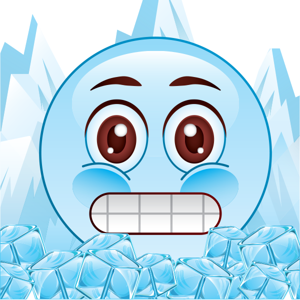 Icy Cold Emoji