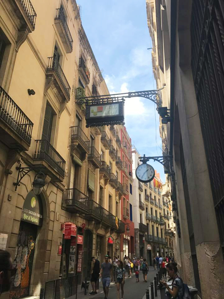 Spain 2017: Barcelona  | Organized Mess