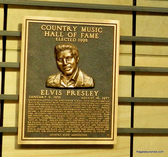 Elvis Presley no Hall da Fama da Música Country