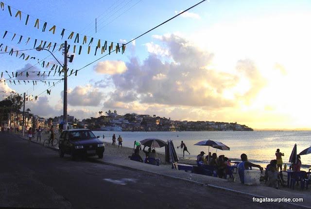 Avenida Beira Mar, Ribeira, Salvador