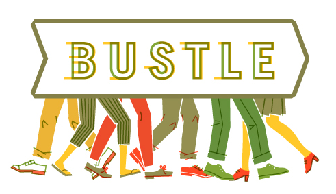 Hustle and Bustle Print on Design Inspiration