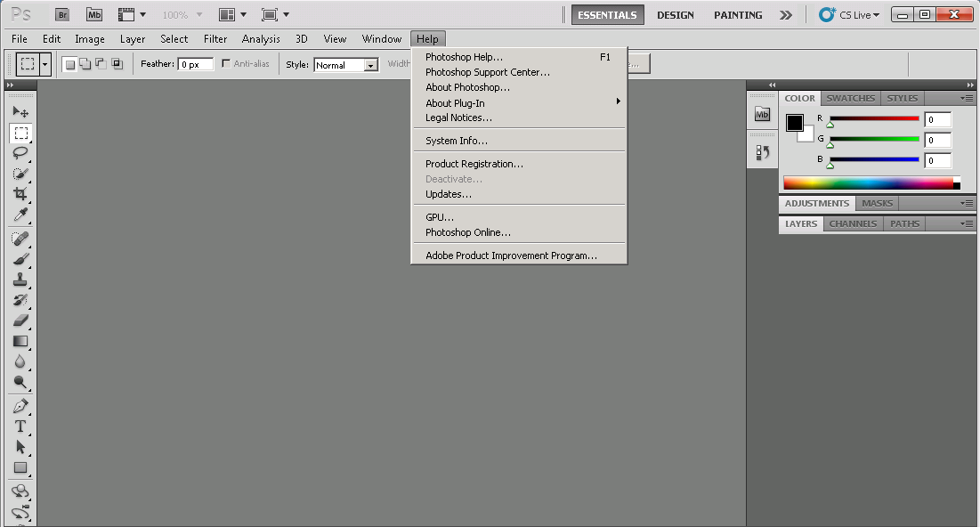 adobe photoshop cs5  with serial number