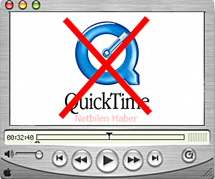 Quick Time Windows player bilgisayardan kaldırma (uninstall)